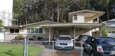 Wahiawa Single Family Home For Sale: 2645 California Avenue