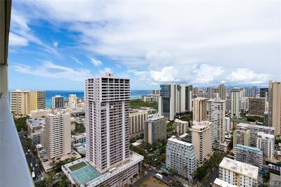 Honolulu Condo/Townhouse For Sale: 445 Seaside Street #4010