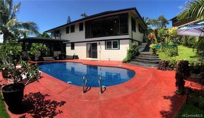 Kailua Single Family Home For Sale: 1230 Lola Place