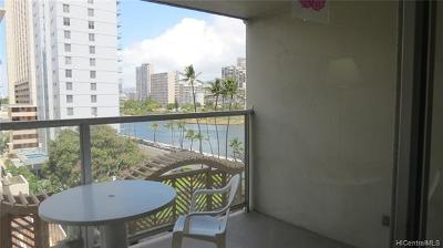 Honolulu Condo/Townhouse For Sale: 445 Seaside Avenue #714