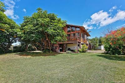 Waialua Single Family Home For Sale: 67-319 Kaiea Place