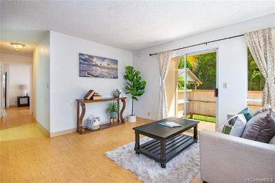 Mililani Condo/Townhouse For Sale: 95-510 Wikao Street #F102