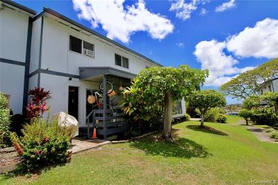 Pearl City Condo/Townhouse For Sale: 98-931 Noelani Street #B