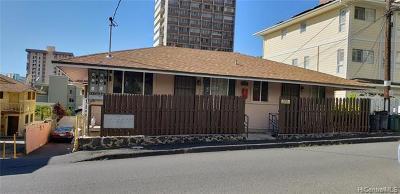 Honolulu Multi Family Home For Sale: 919 Spencer Street
