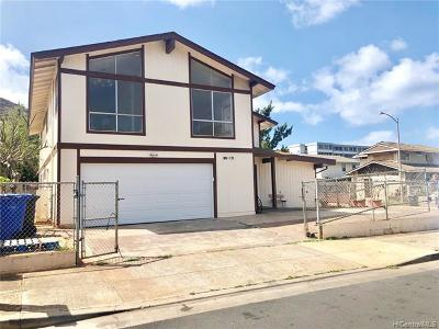Waianae Single Family Home For Sale: 86-171 Moeha Street
