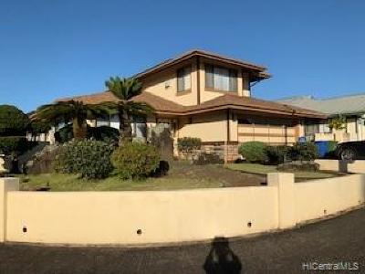Mililani Single Family Home For Sale: 95-1028 Kanae Street