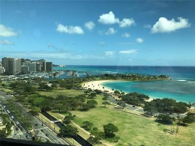 Honolulu Condo/Townhouse For Sale: 1330 Ala Moana Boulevard #2405