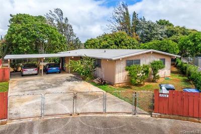 Pearl City Single Family Home For Sale: 2268 Komo Mai Drive