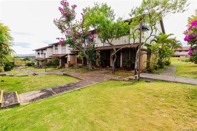 Mililani Condo/Townhouse For Sale: 94-168 Anania Drive #250