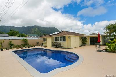 Kaneohe Single Family Home For Sale: 46-308 Kahuhipa Street