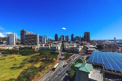 Honolulu Condo/Townhouse For Sale: 215 N King Street #1201
