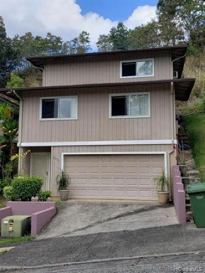 Pearl City Single Family Home For Sale: 2296 Akepa Street