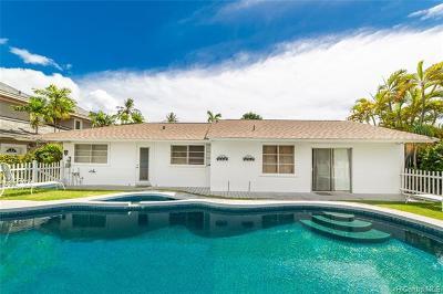 Honolulu Single Family Home For Sale: 4817 Aukai Avenue