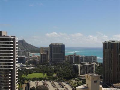 Honolulu Condo/Townhouse For Sale: 411 Hobron Lane #3907