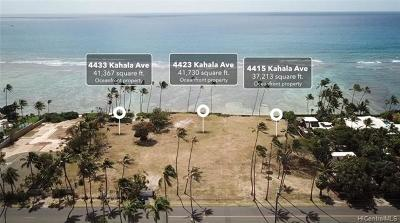 Honolulu County Residential Lots & Land For Sale: 4433 Kahala Avenue