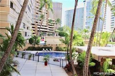 Honolulu Condo/Townhouse For Sale: 1720 Ala Moana Boulevard #A704