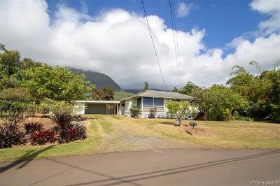 Kaneohe HI Single Family Home For Sale: $1,025,000