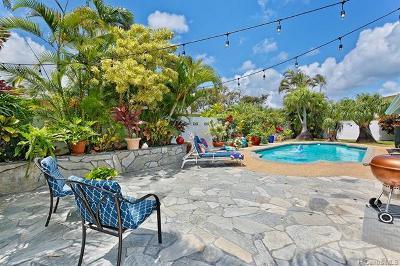 Kailua Single Family Home For Sale: 663 Mokapu Road
