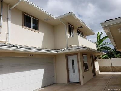 Honolulu HI Single Family Home For Sale: $900,000