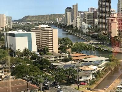 Honolulu Condo/Townhouse For Sale: 1750 Kalakaua Avenue #1605