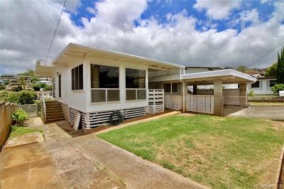 Single Family Home For Sale: 1478 Lalamilo Street