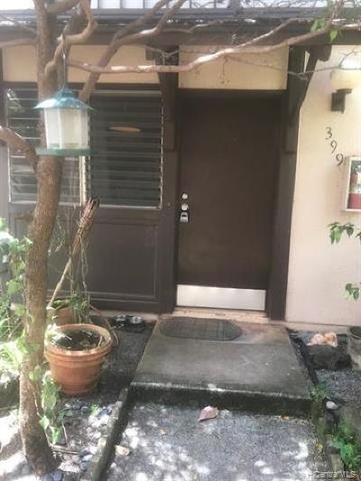 Mililani Condo/Townhouse For Sale: 94-1448 Lanikuhana Avenue #399