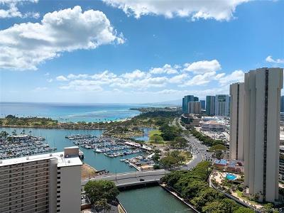 Honolulu Rental For Rent: 1551 Ala Wai Boulevard #2903