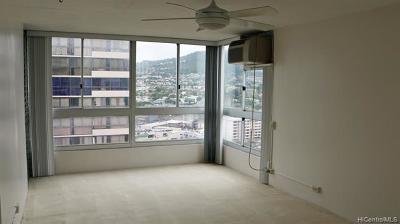 Honolulu Rental For Rent: 2740 Kuilei Street #2007