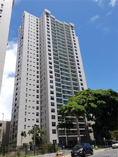 Honolulu Condo/Townhouse For Sale: 1450 Young Street #2505