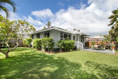 Kailua HI Single Family Home For Sale: $1,690,000
