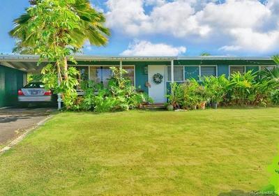 Kailua Single Family Home For Sale: 656 Ululani Street