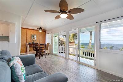 Waialua Single Family Home For Sale: 67-239 Kahaone Loop #A