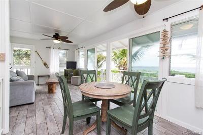 Waialua Single Family Home For Sale: 67-239 Kahaone Loop #B