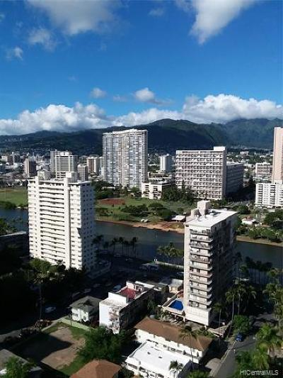 Hawaii County, Honolulu County Rental For Rent: 2140 Kuhio Avenue #2510