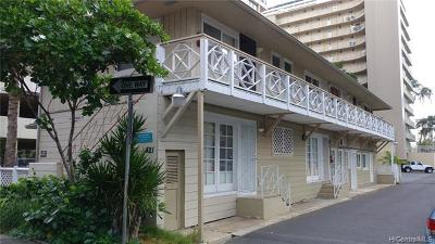 Hawaii County, Honolulu County Rental For Rent: 421 Lewers Street #E