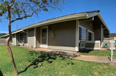 Waipahu Condo/Townhouse For Sale: 94-1460 Kulewa Loop #A