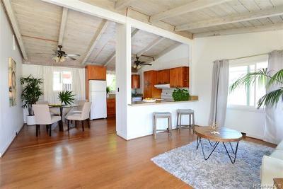 Single Family Home For Sale: 205 Maluniu Avenue