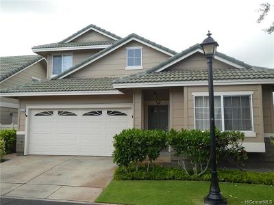Ewa Beach Single Family Home For Sale: 91-253 Lukini Place #34