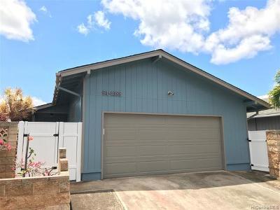 Waipahu Single Family Home For Sale: 94-1088 Kaaholo Street