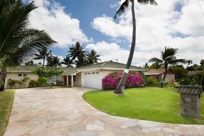 Kailua Single Family Home For Sale: 112 Mahealani Place