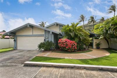 Honolulu Single Family Home For Sale: 936 Lunalilo Home Road