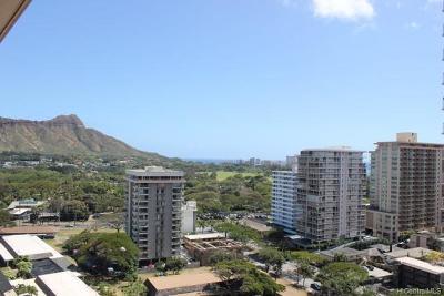 Hawaii County, Honolulu County Condo/Townhouse For Sale: 229 Paoakalani Avenue #1810