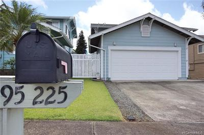 Mililani Single Family Home For Sale: 95-225 Kukini Place