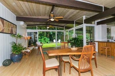 Kaneohe Single Family Home For Sale: 45-302 Mealele Street