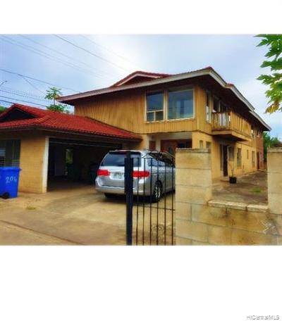 Waipahu Single Family Home For Sale: 94-206 Makamaka Place