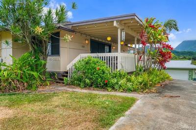 Kaneohe Single Family Home For Sale: 45-036 Waikalua Road #A