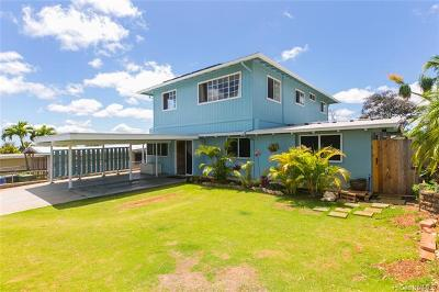 Pearl City Single Family Home For Sale: 2120 Aamanu Street