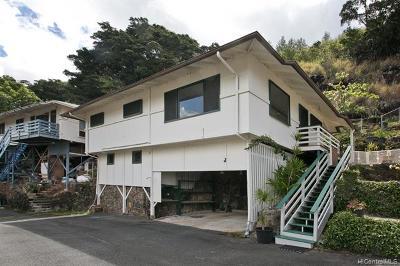 Honolulu Single Family Home For Sale: 1745 J Ala Amoamo Street