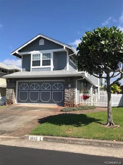 Pearl City Single Family Home For Sale: 98-1840 Kaahumanu Street #E