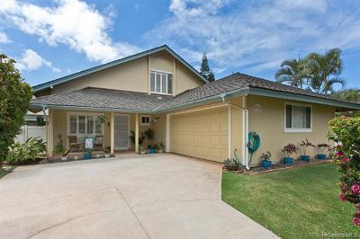 Kapolei Single Family Home In Escrow Showing: 92-307 Kiowao Place